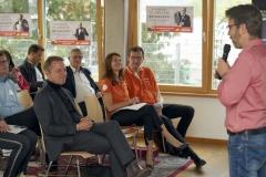 """Bäuerle Afterwork Vortrag """"Erfolgreiche Personalgewinnung"""" mit Prof. Armin Trost, Hochschule Furtwangen."""
