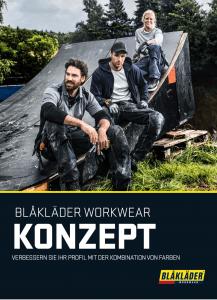 """Blakläder Katalog """"Workwear Konzept"""" - bäuerle das werbewerk."""